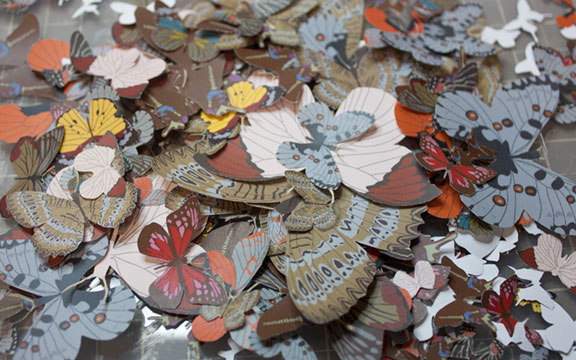 we're sending butterflies all over the world these days!